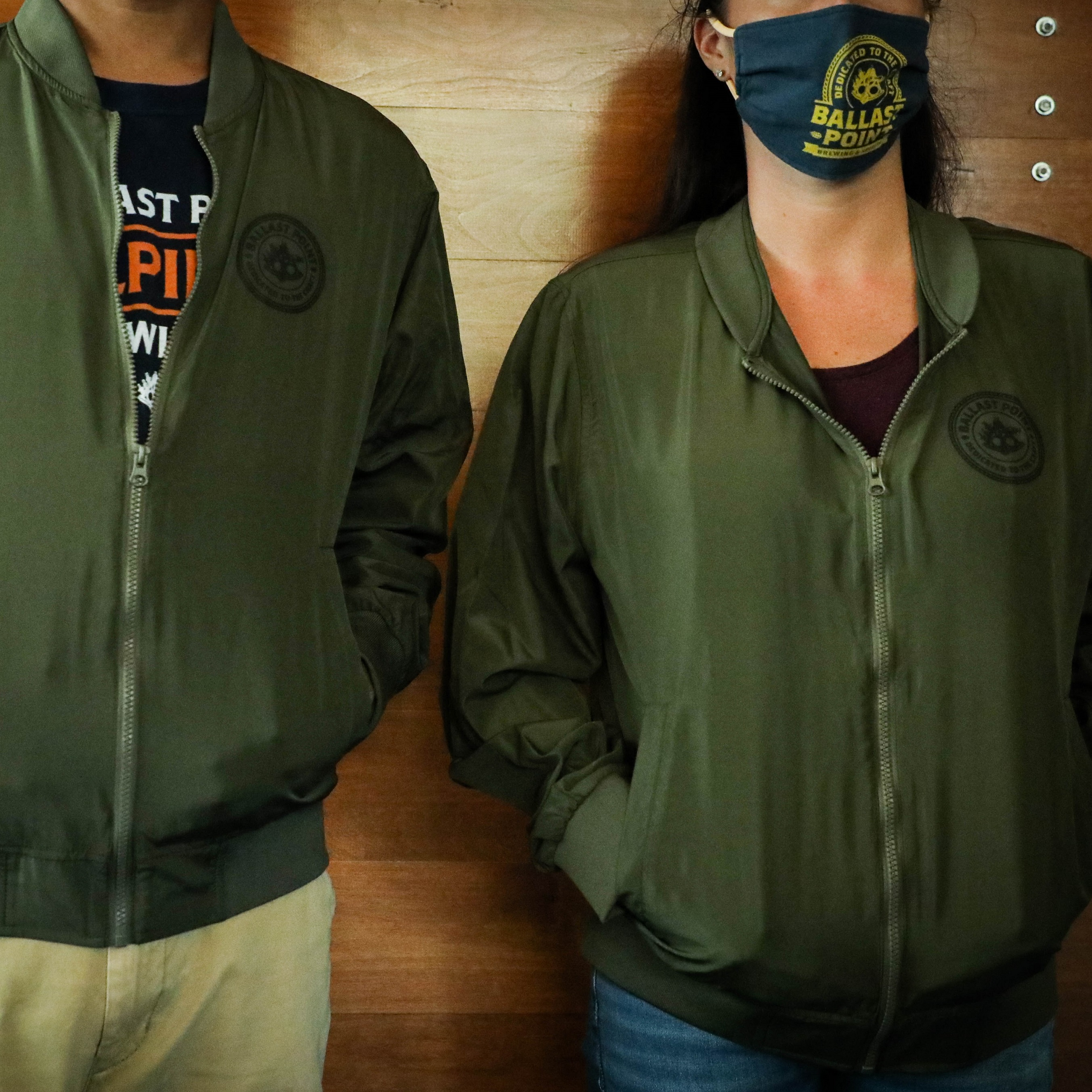 Ballast Point Bomber Jacket MAIN
