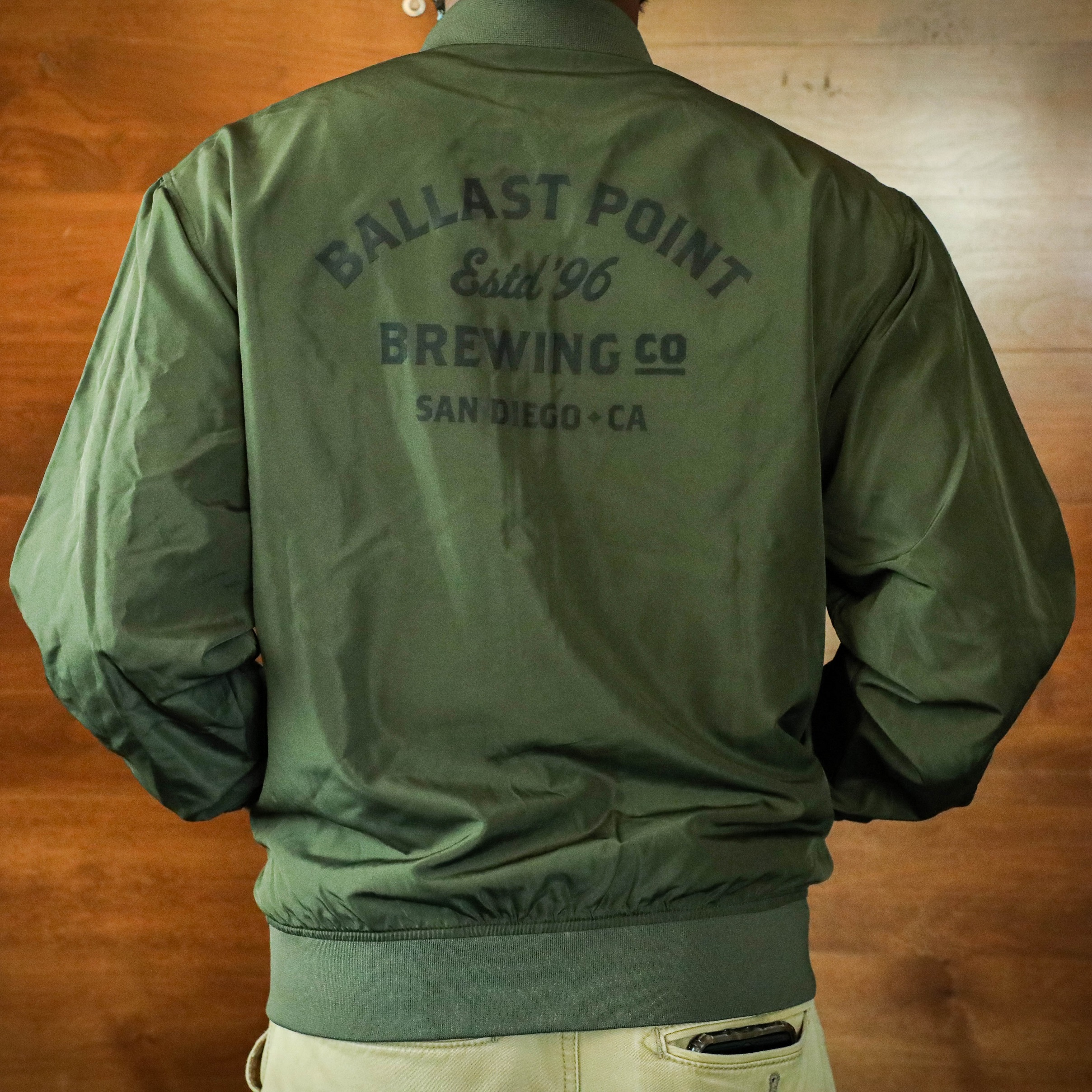 Ballast Point Bomber Jacket SWATCH