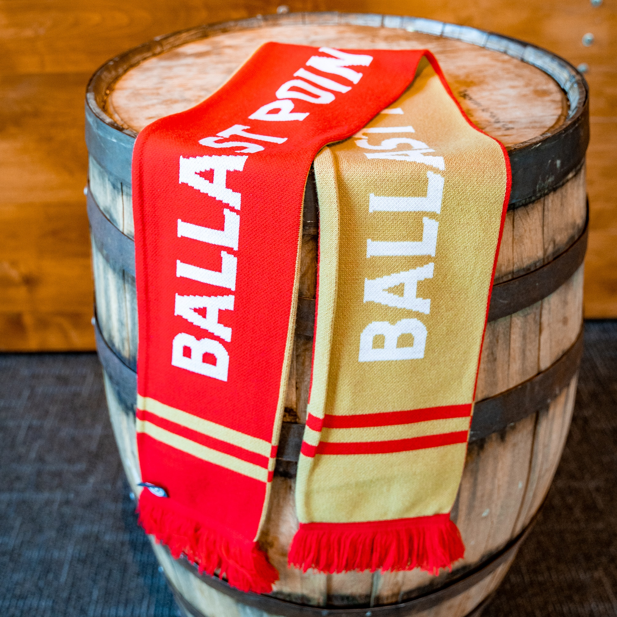 Ballast Point Soccer Scarf SWATCH