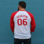 Ballast Point Men's ¾ Sculpin Baseball Tee SWATCH