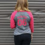 Ballast Point Women's ¾ Sculpin Baseball Tee SWATCH