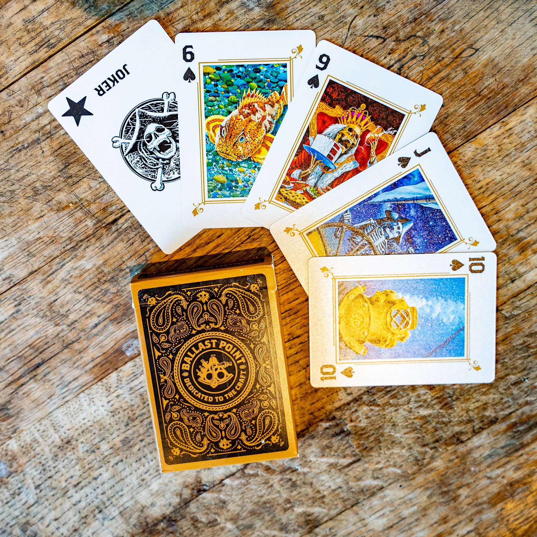 Ballast Point Premium Playing Cards THUMBNAIL