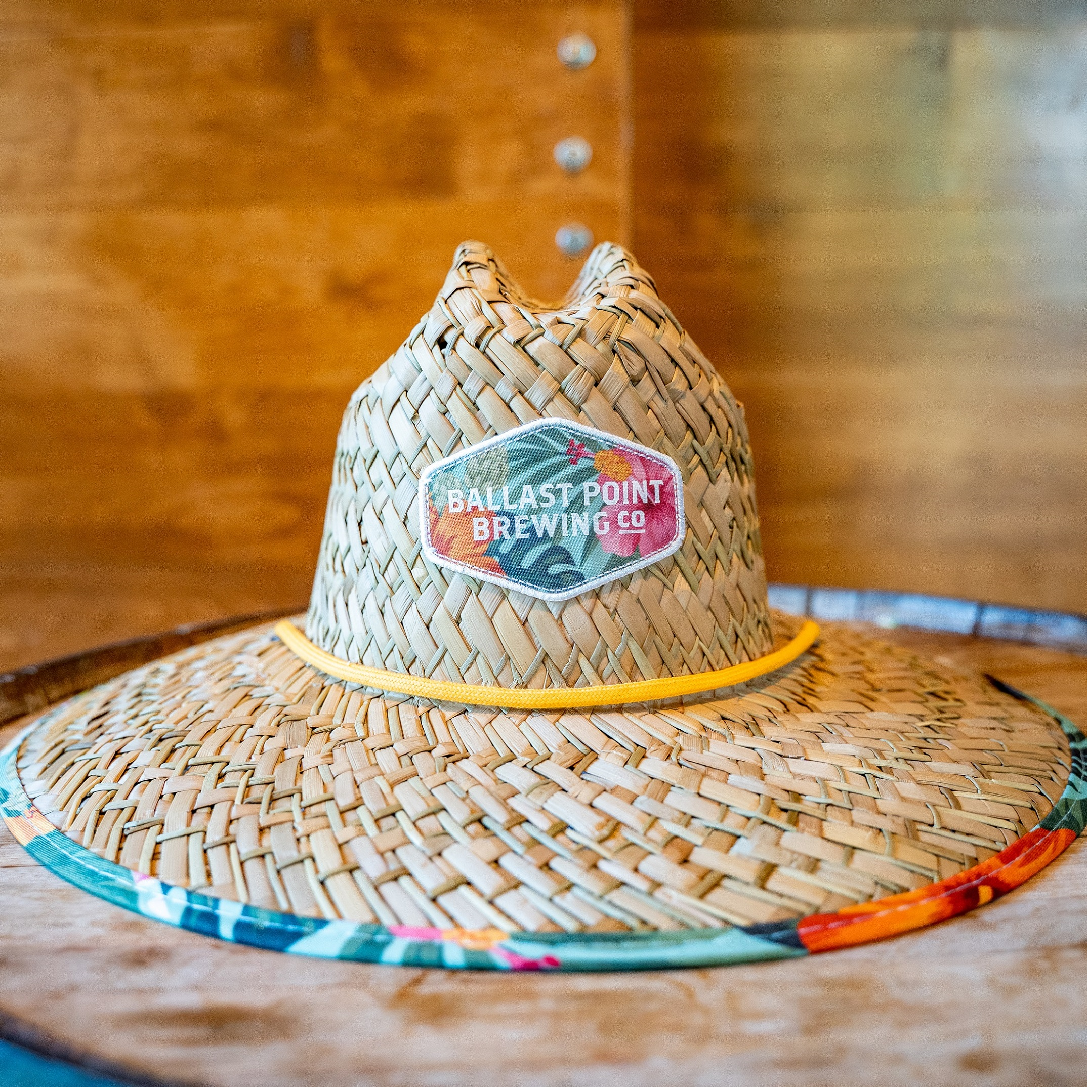 Ballast Point Aloha Sculpin Hemlock Straw Hat SWATCH