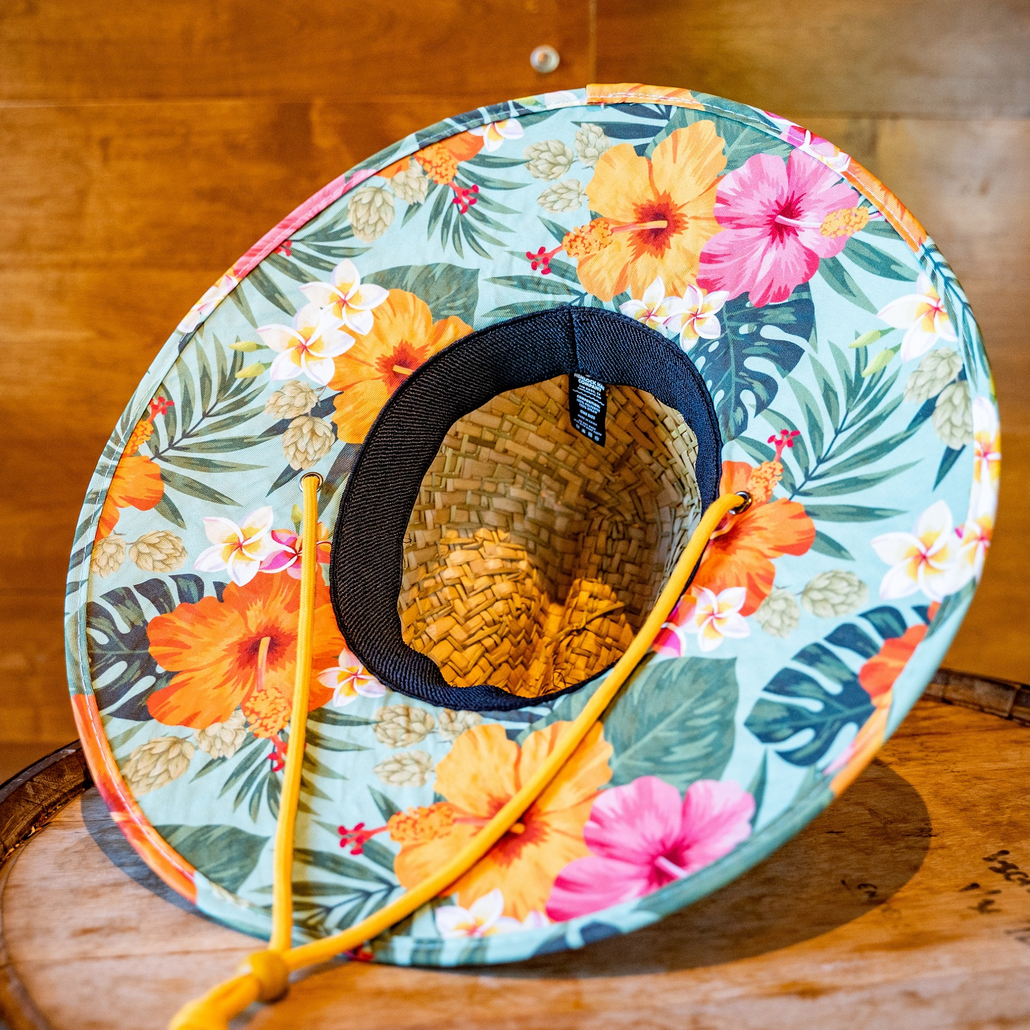 Ballast Point Aloha Sculpin Hemlock Straw Hat THUMBNAIL