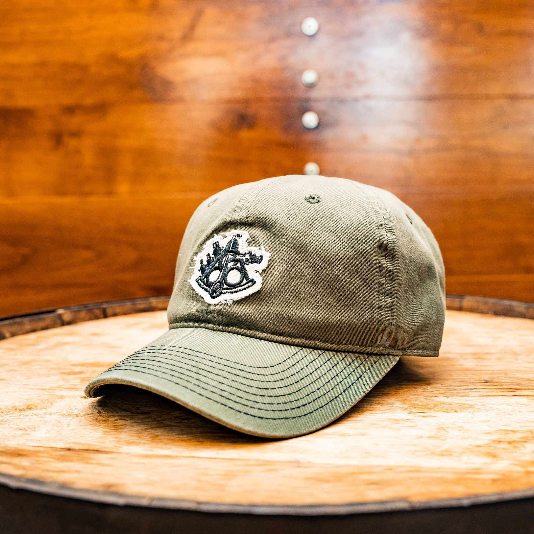 Dad Boat Hat Olive Green THUMBNAIL