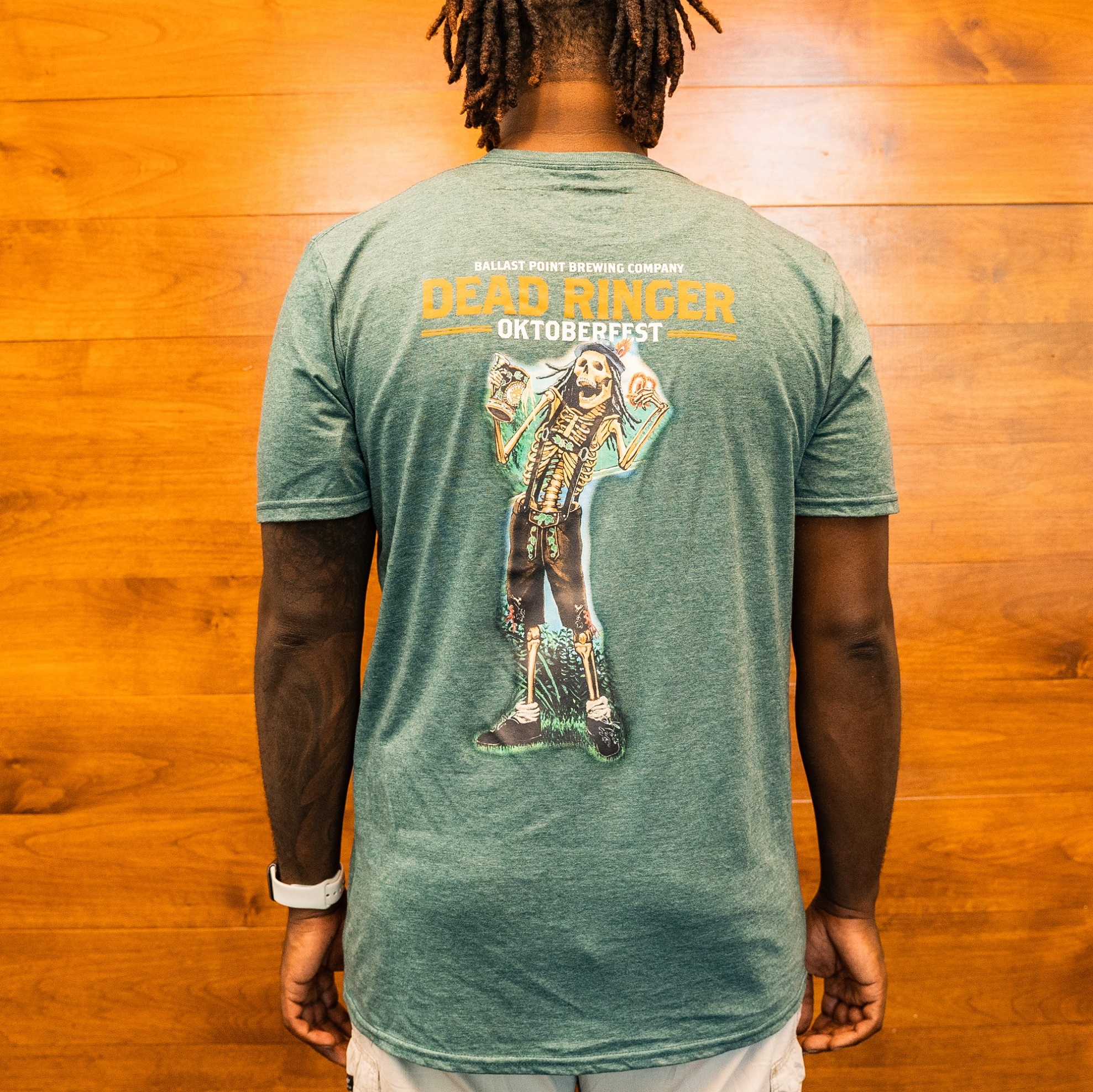 Dead Ringer 2019 Tee Heather Green THUMBNAIL