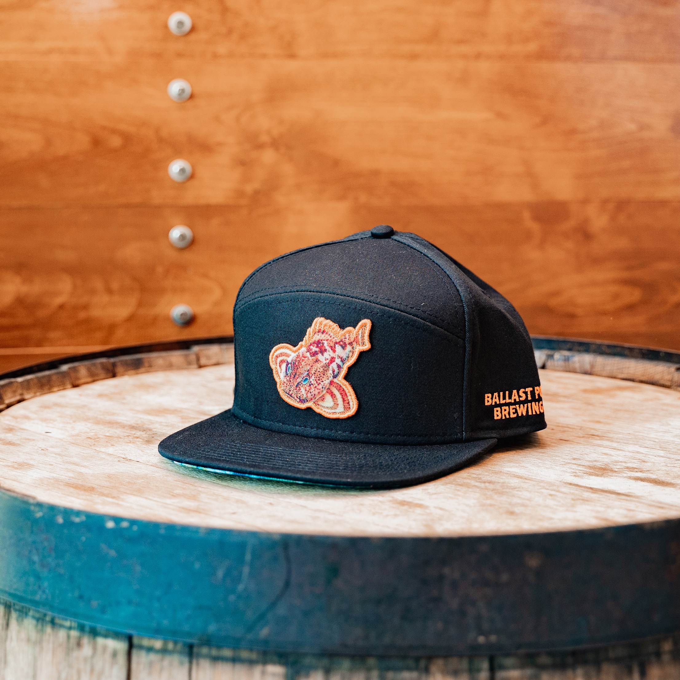 Ballast Point Sculpin Tradesman Hat Black THUMBNAIL