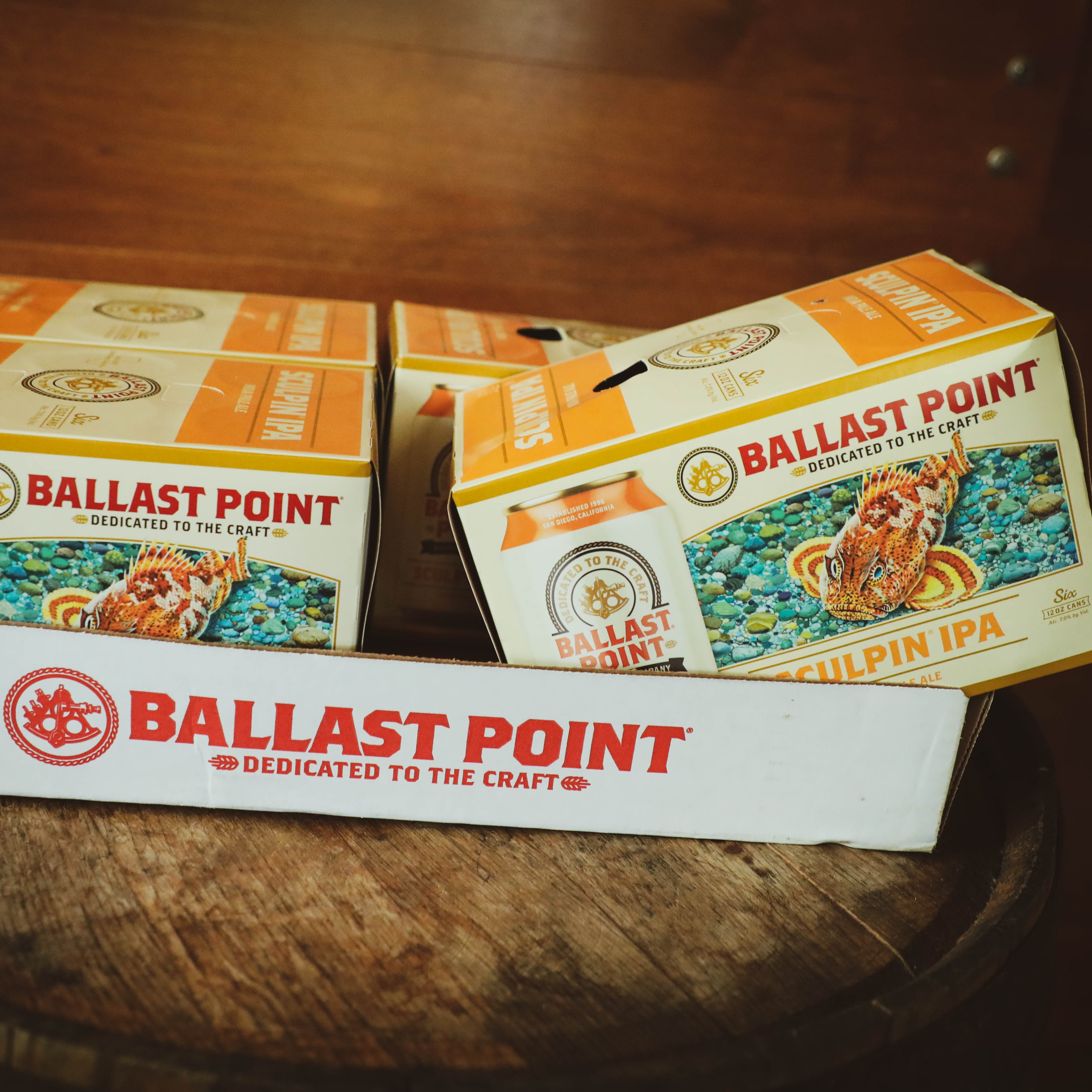 Sculpin IPA 6 pack Cans (by the Case) THUMBNAIL