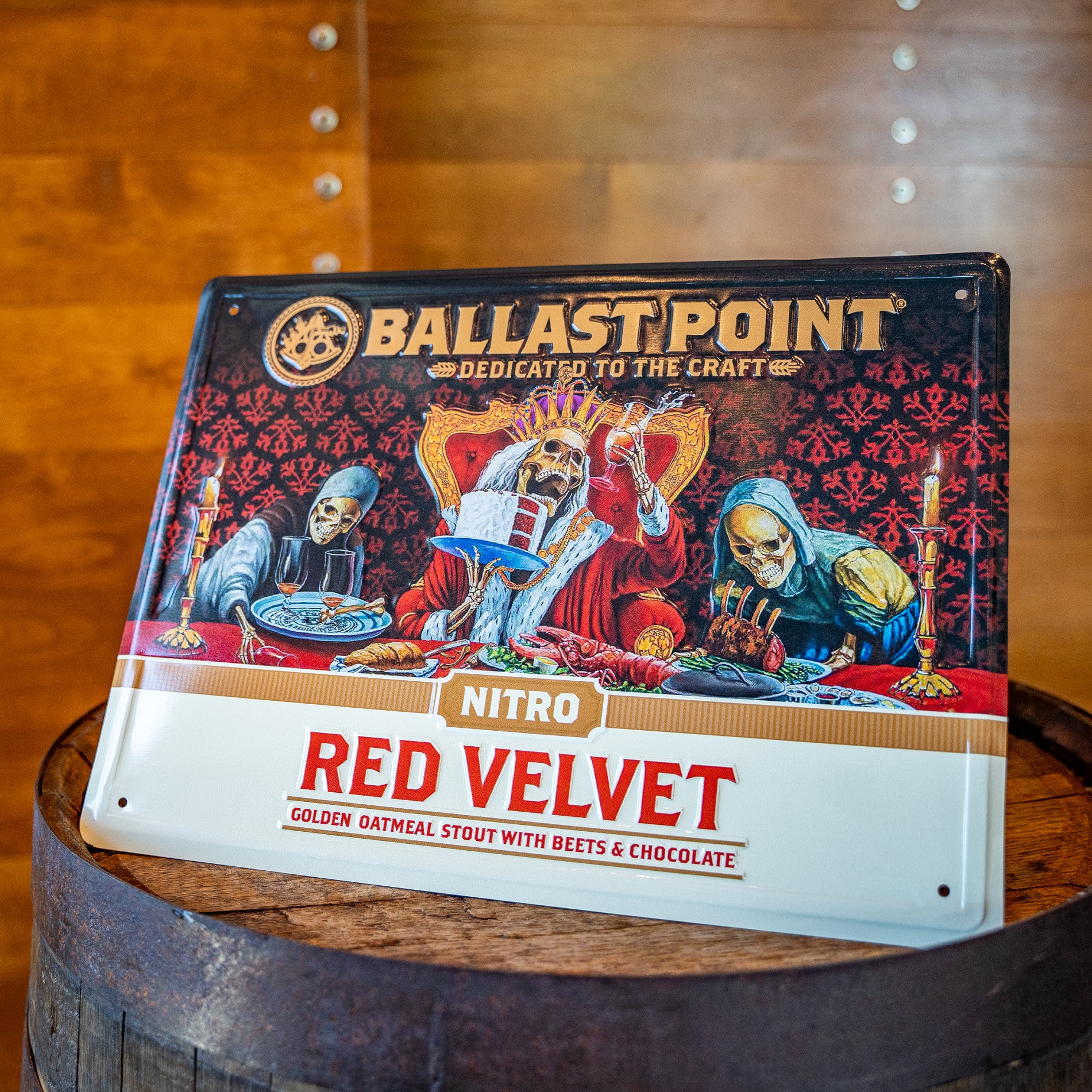 Red Velvet Tin Sign THUMBNAIL