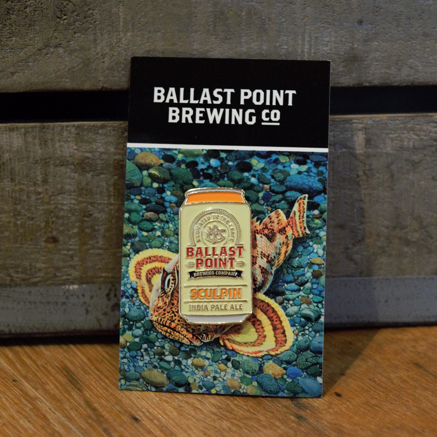 Lapel Pin Can - Sculpin IPA SWATCH