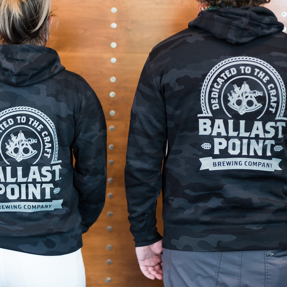 Ballast Point Dark Camo Pullover Hoody SWATCH