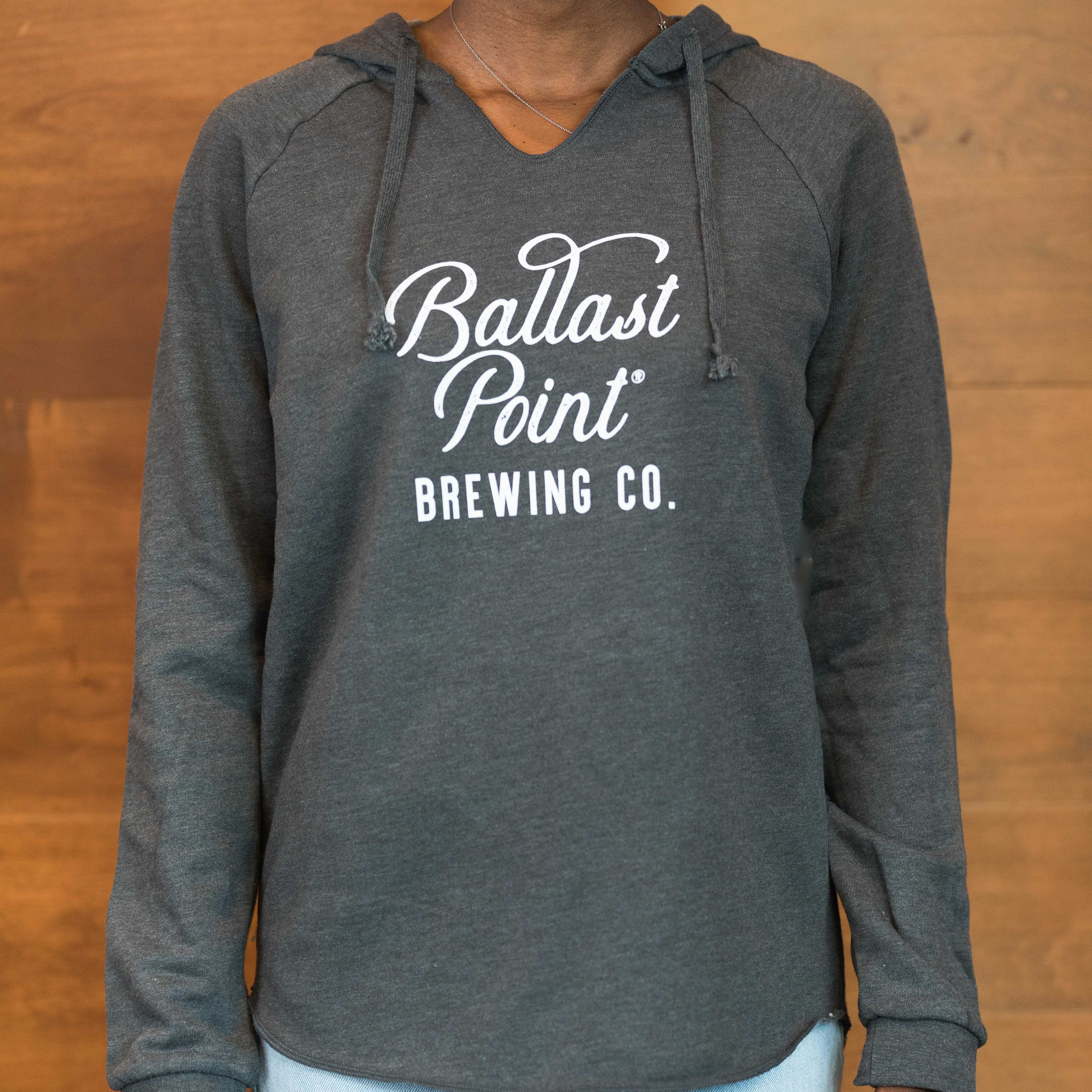 Ballast Point Women's Grey Pullover Hoody LARGE