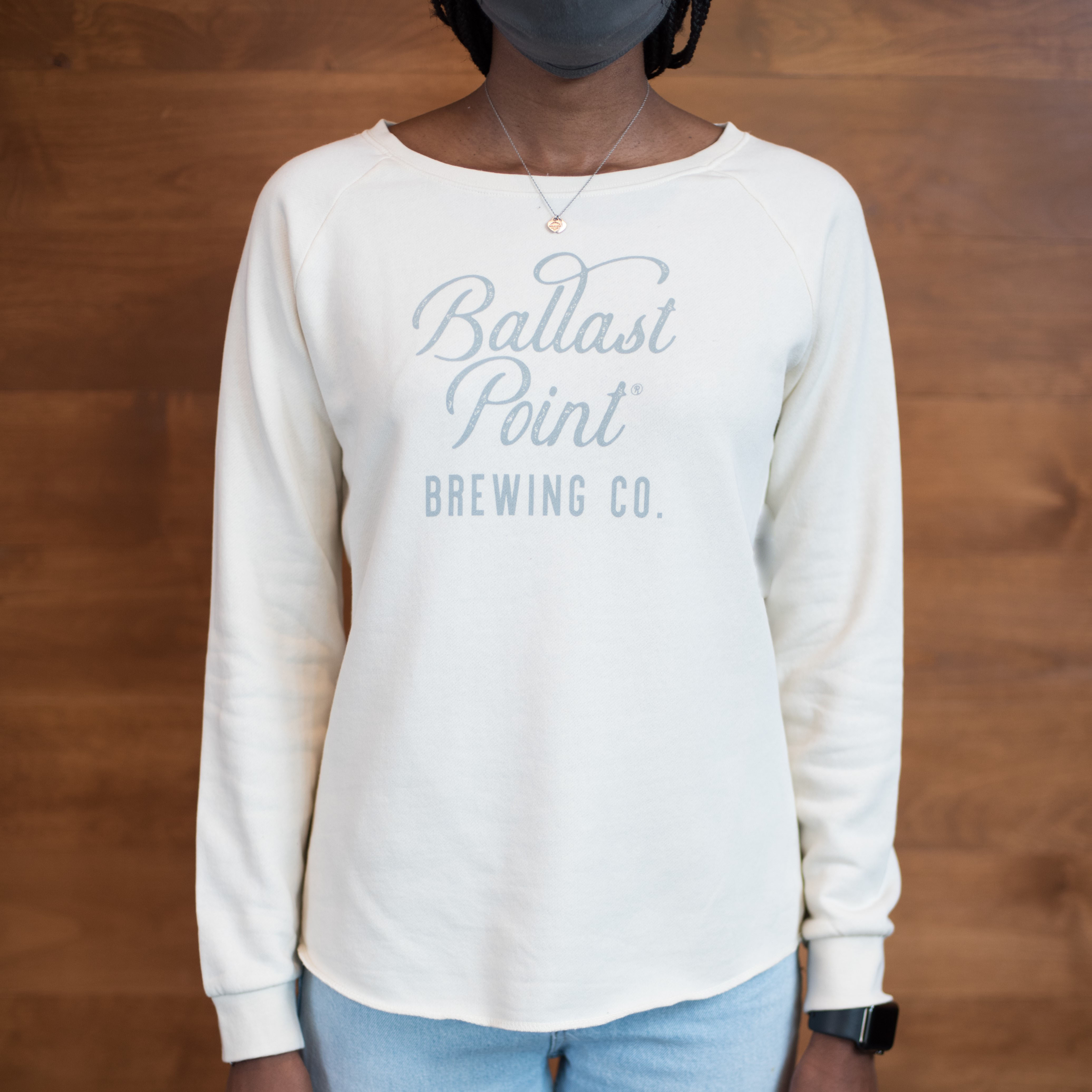 Ballast Point Women's Bone Pullover Crew Sweatshirt THUMBNAIL