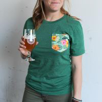 Ballast Point Unisex Aloha Sculpin Pocket Tee Mini-Thumbnail