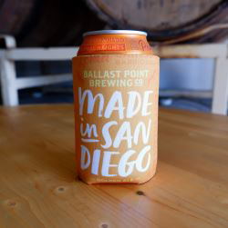 Ballast Point Made in SD Koozie SWATCH