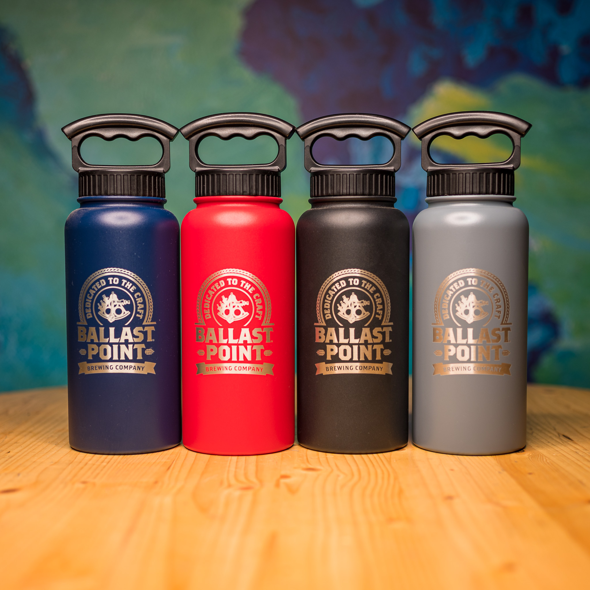 Ballast Point 32oz Stainless Growler LARGE