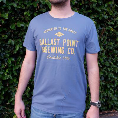 Ballast Point Men's Dedicated Tee LARGE