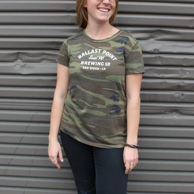 Ballast Point Women's Camo Tee THUMBNAIL