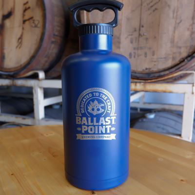 Ballast Point 64oz Navy Stainless Steel Growler_LARGE