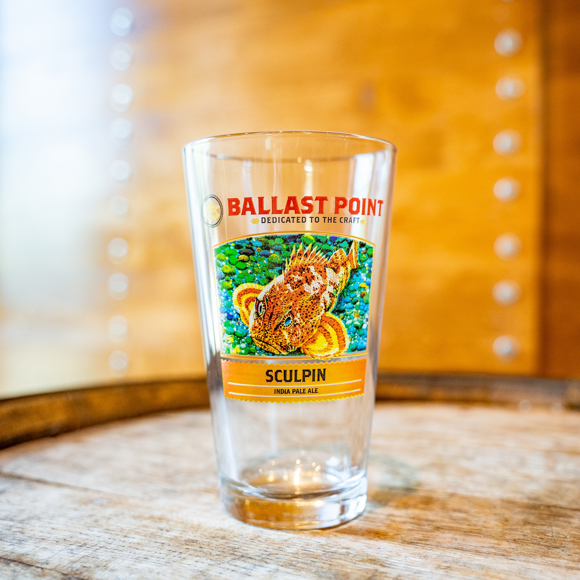 Sculpin IPA Pint Glass THUMBNAIL