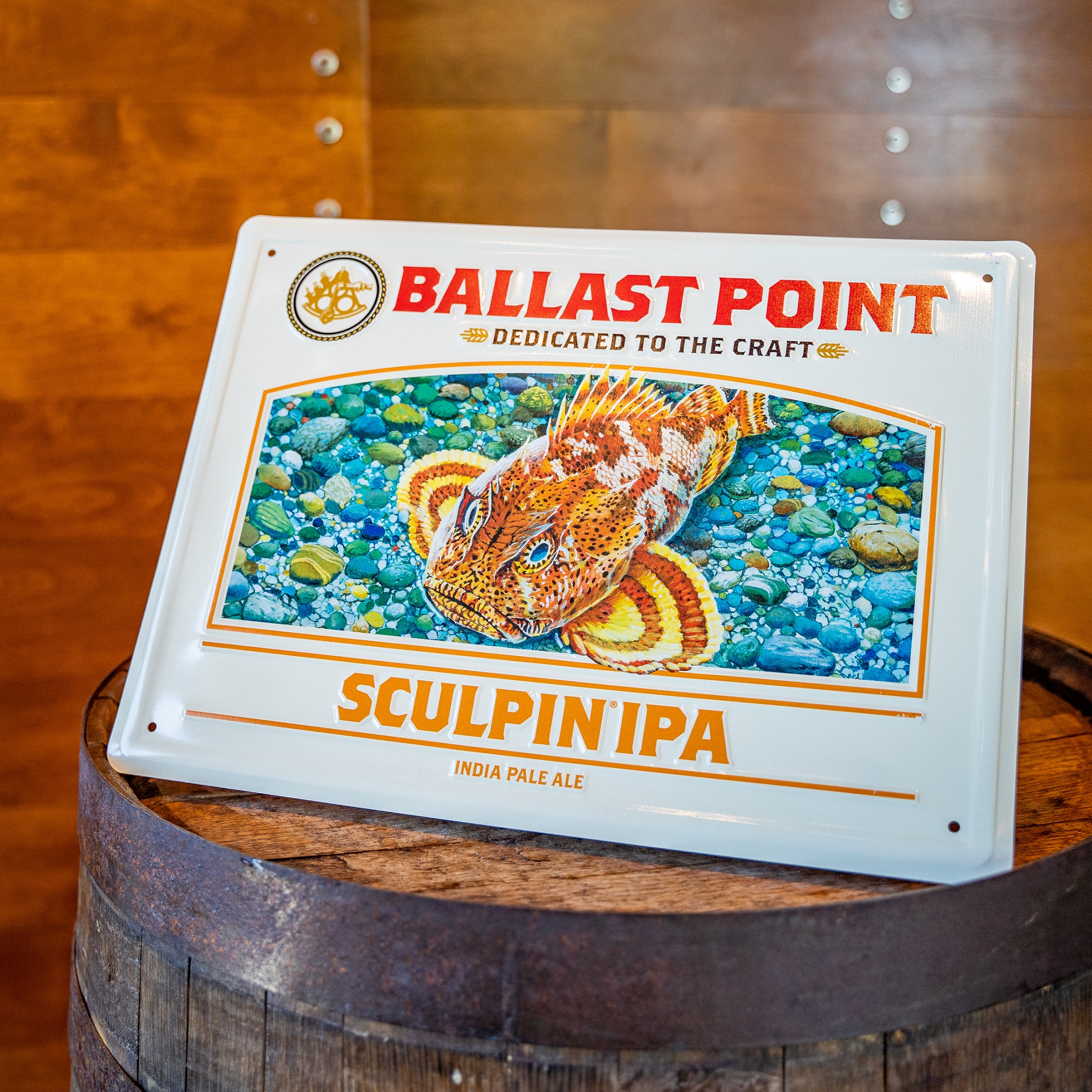 Sculpin Tin Sign THUMBNAIL