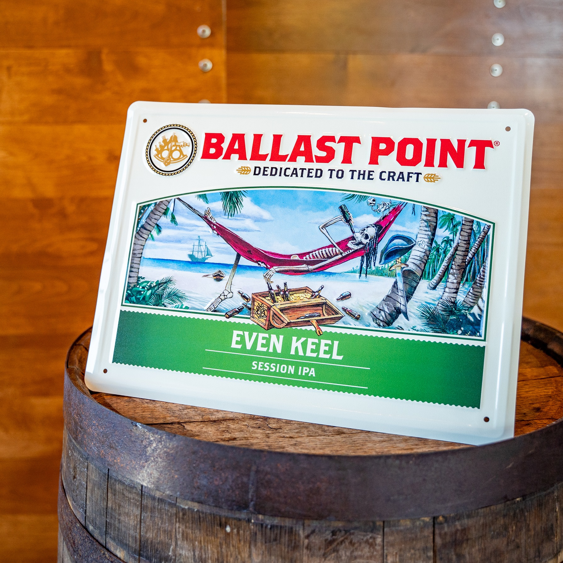 Even Keel Tin Sign THUMBNAIL