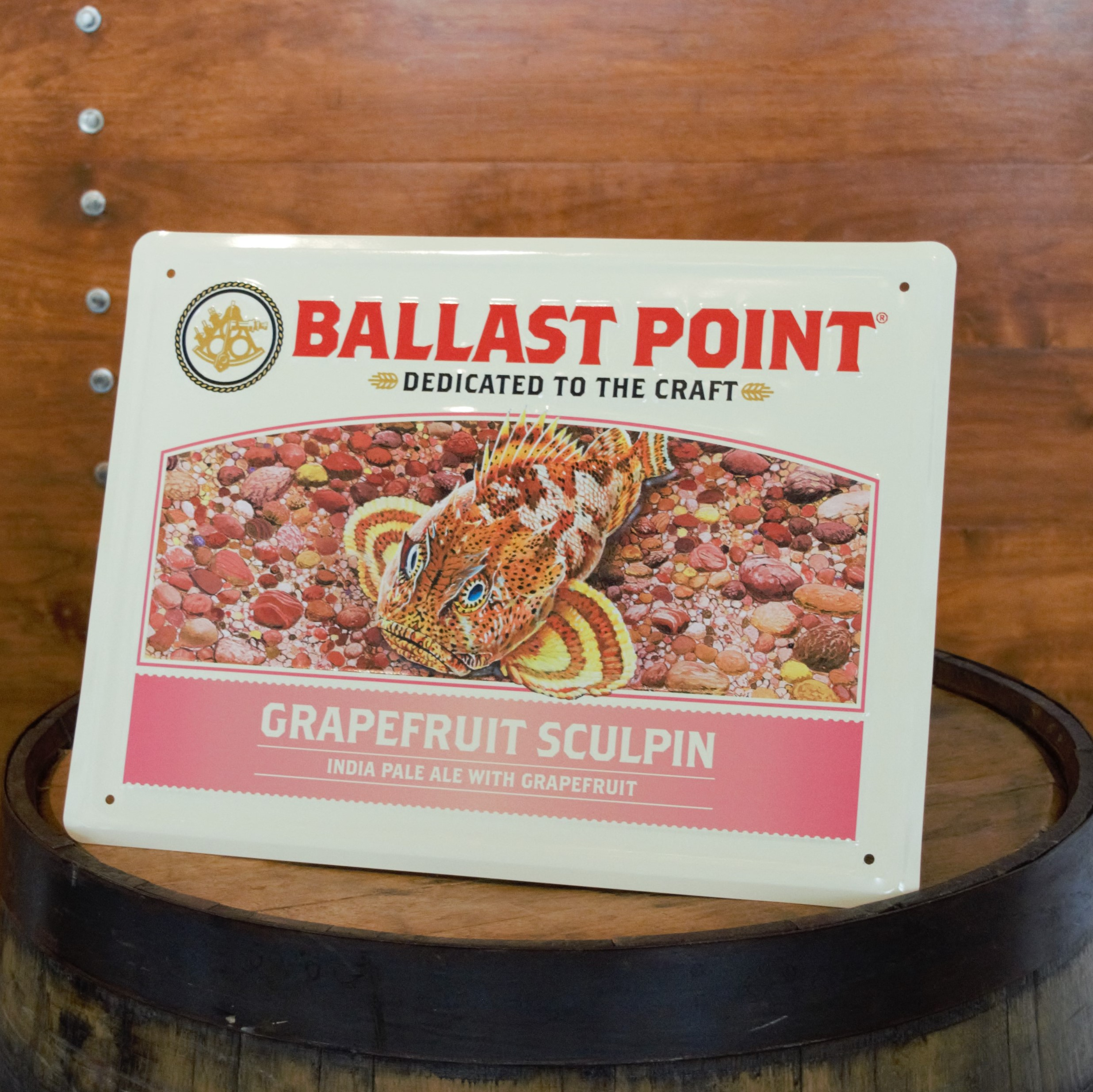 Grapefruit Sculpin Tin Sign THUMBNAIL
