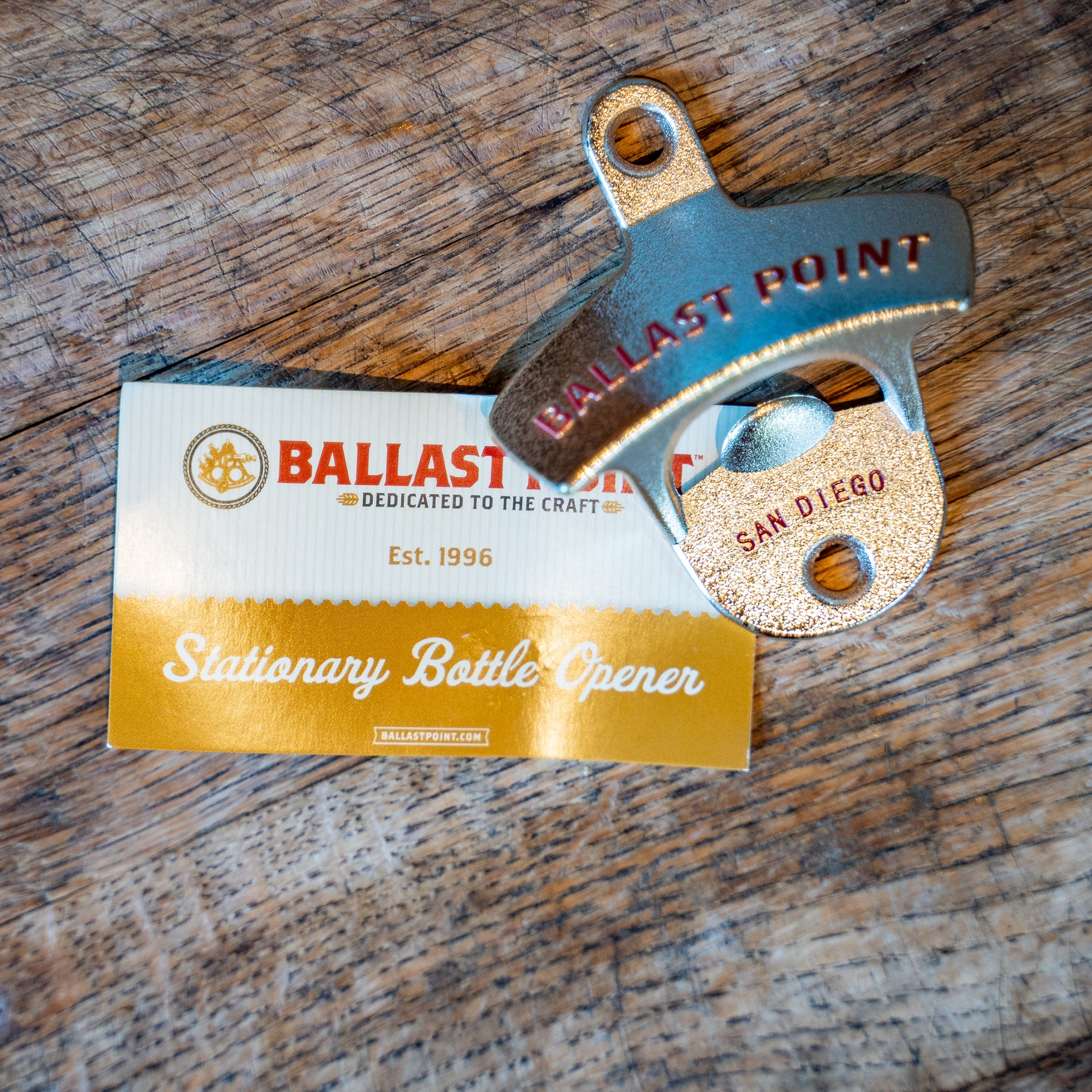 Ballast Point Stationary Bottle Opener THUMBNAIL