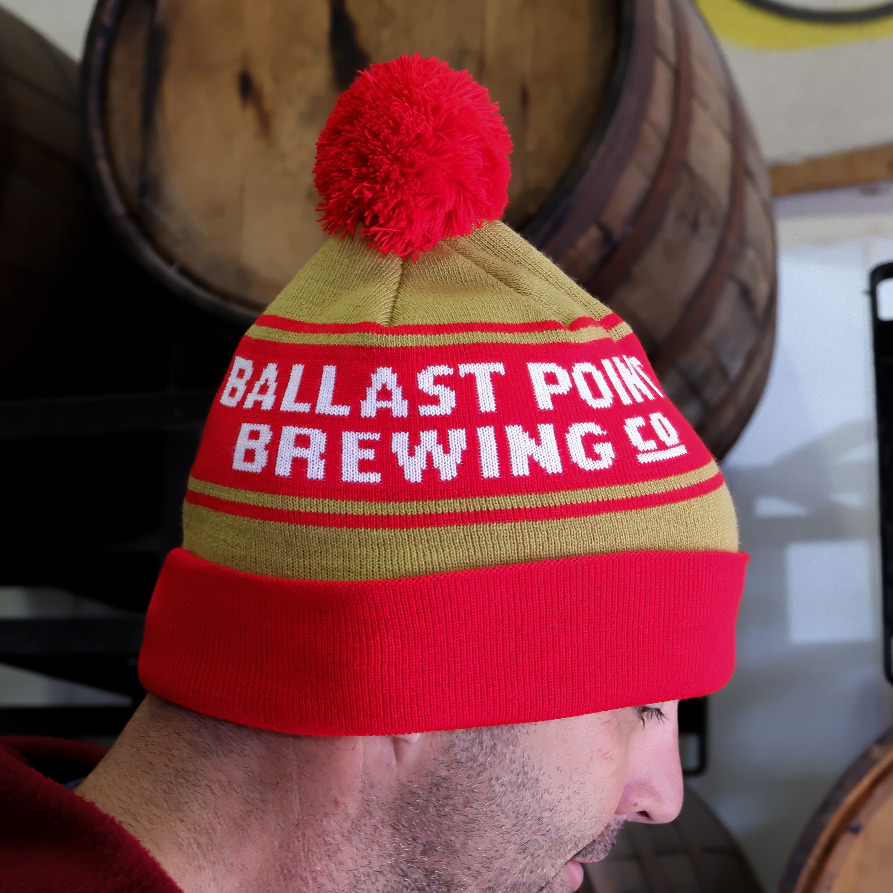 Ballast Point Pom Beanie THUMBNAIL