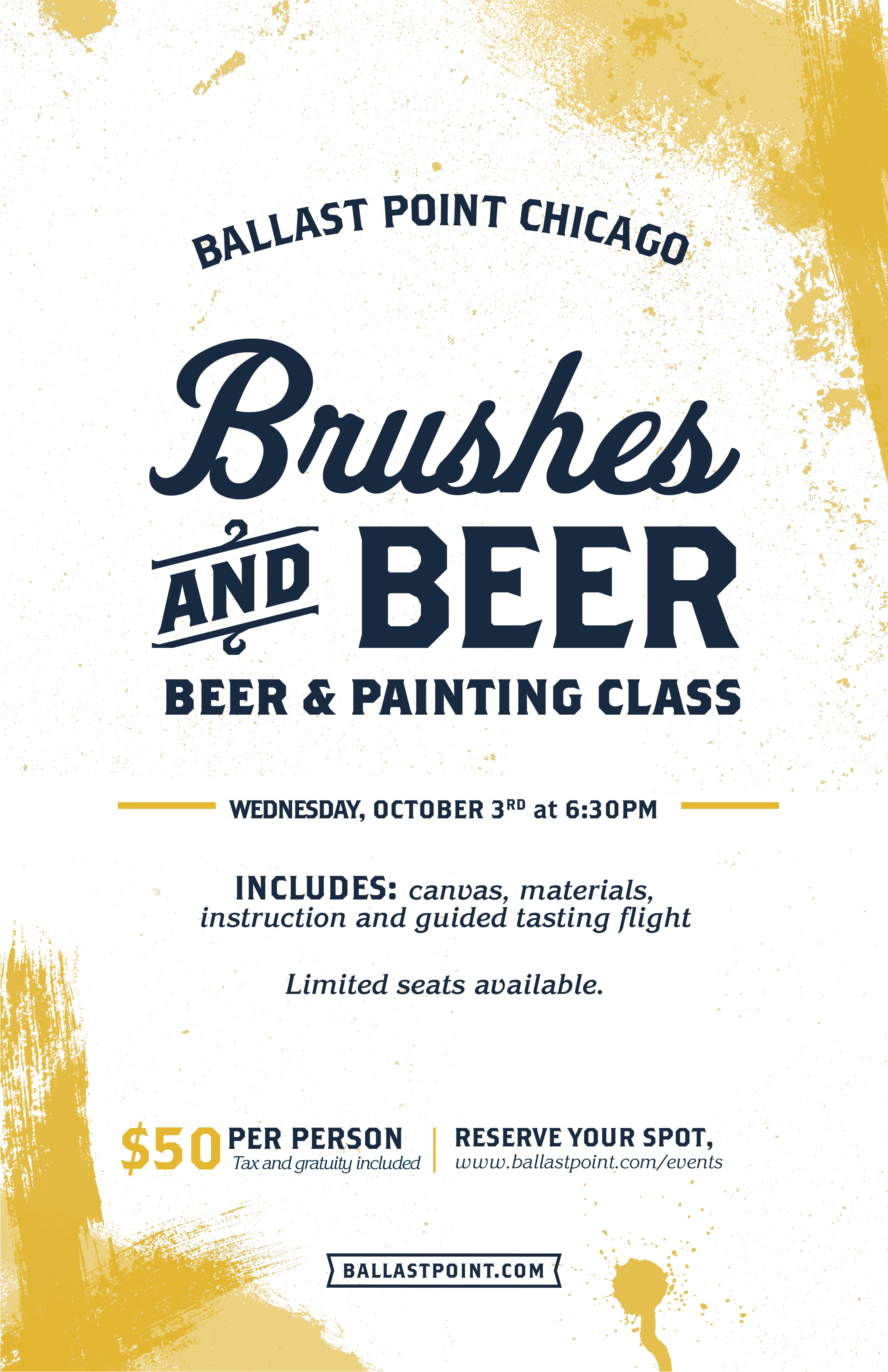 Brushes and Beer - Chicago