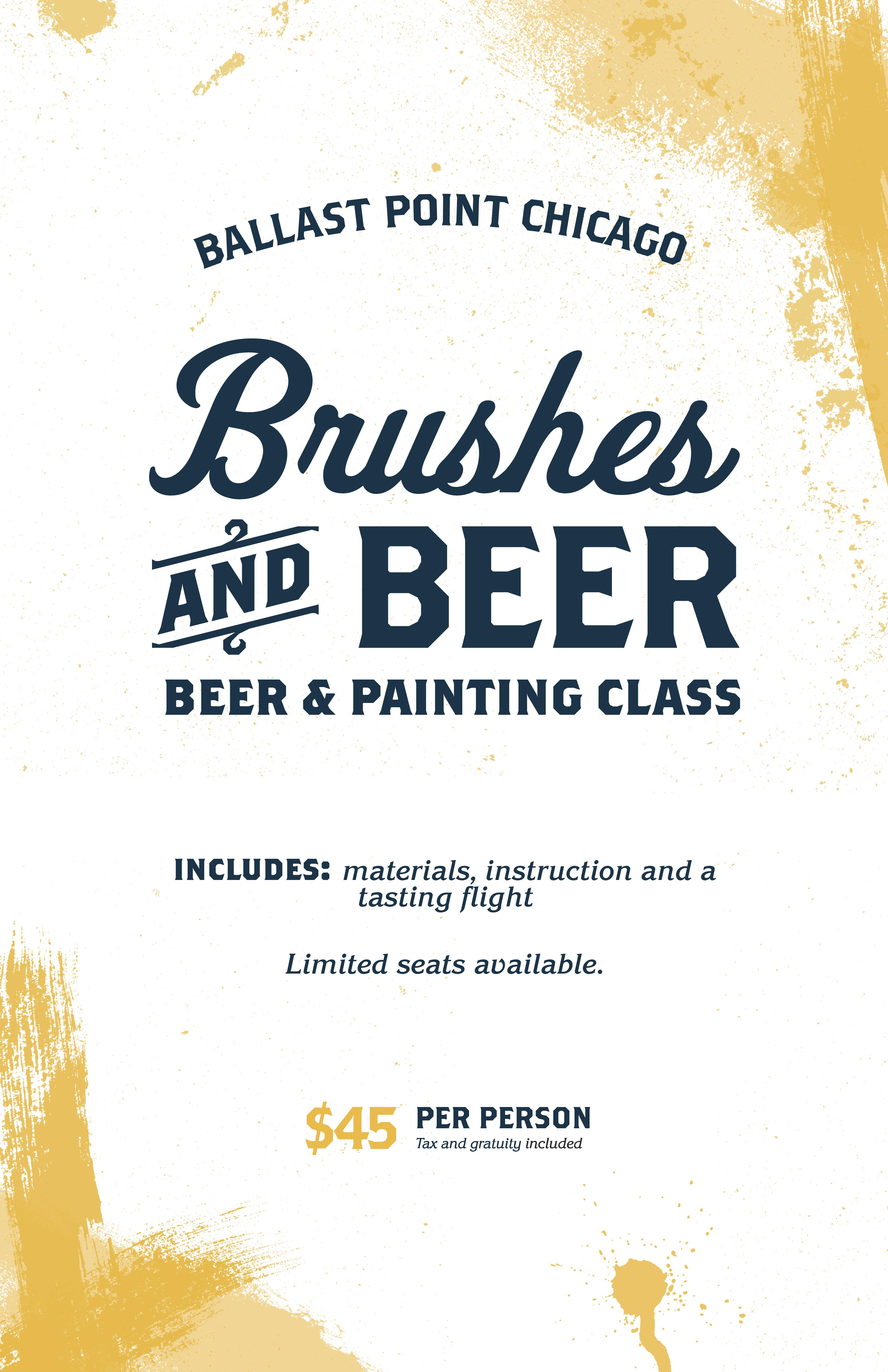 Brushes & Beer - BP Chicago