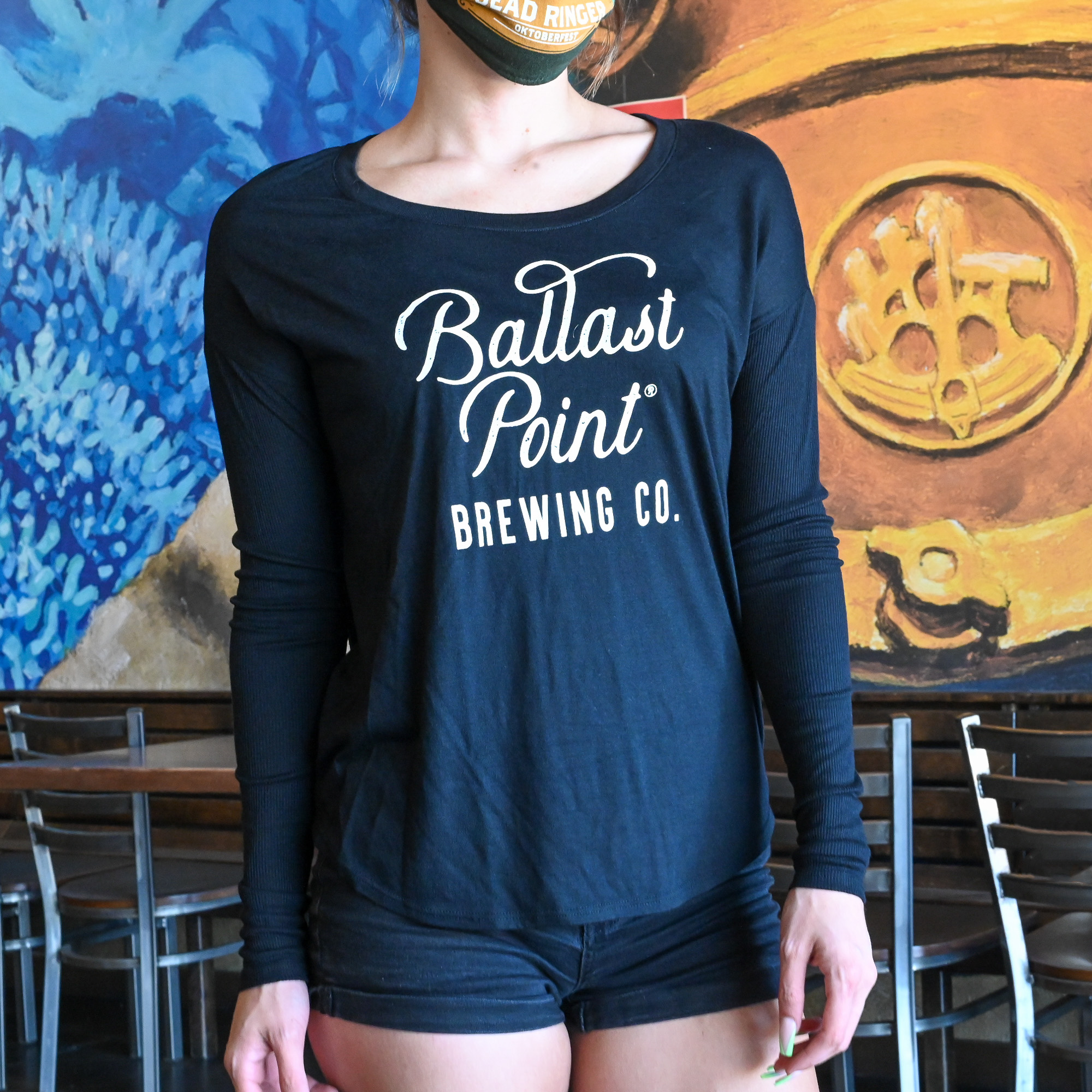 Women's BP Script Long Sleeve THUMBNAIL