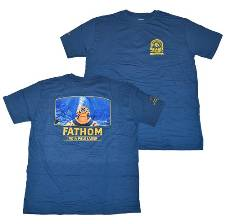 Fathom IPL Men's Navy T-Shirt