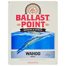 Wahoo Tin Sign