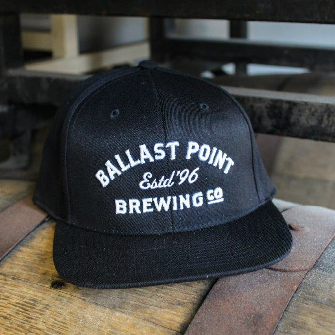 "Ballast Point Black ""Estd. '96"" Snapback"