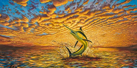 Art Print - Black Marlin