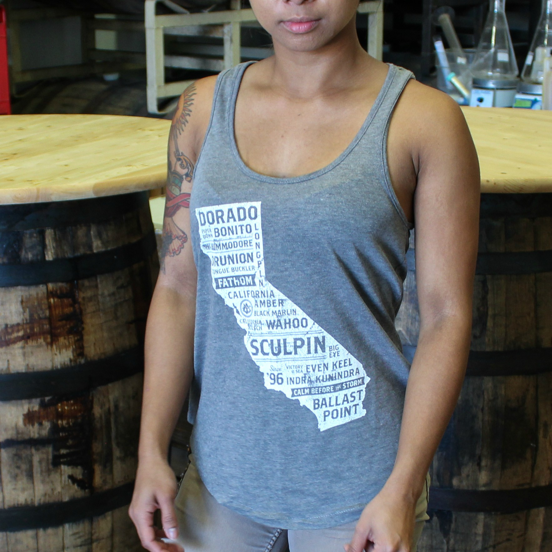 Women's BP California Beers Tank Top THUMBNAIL