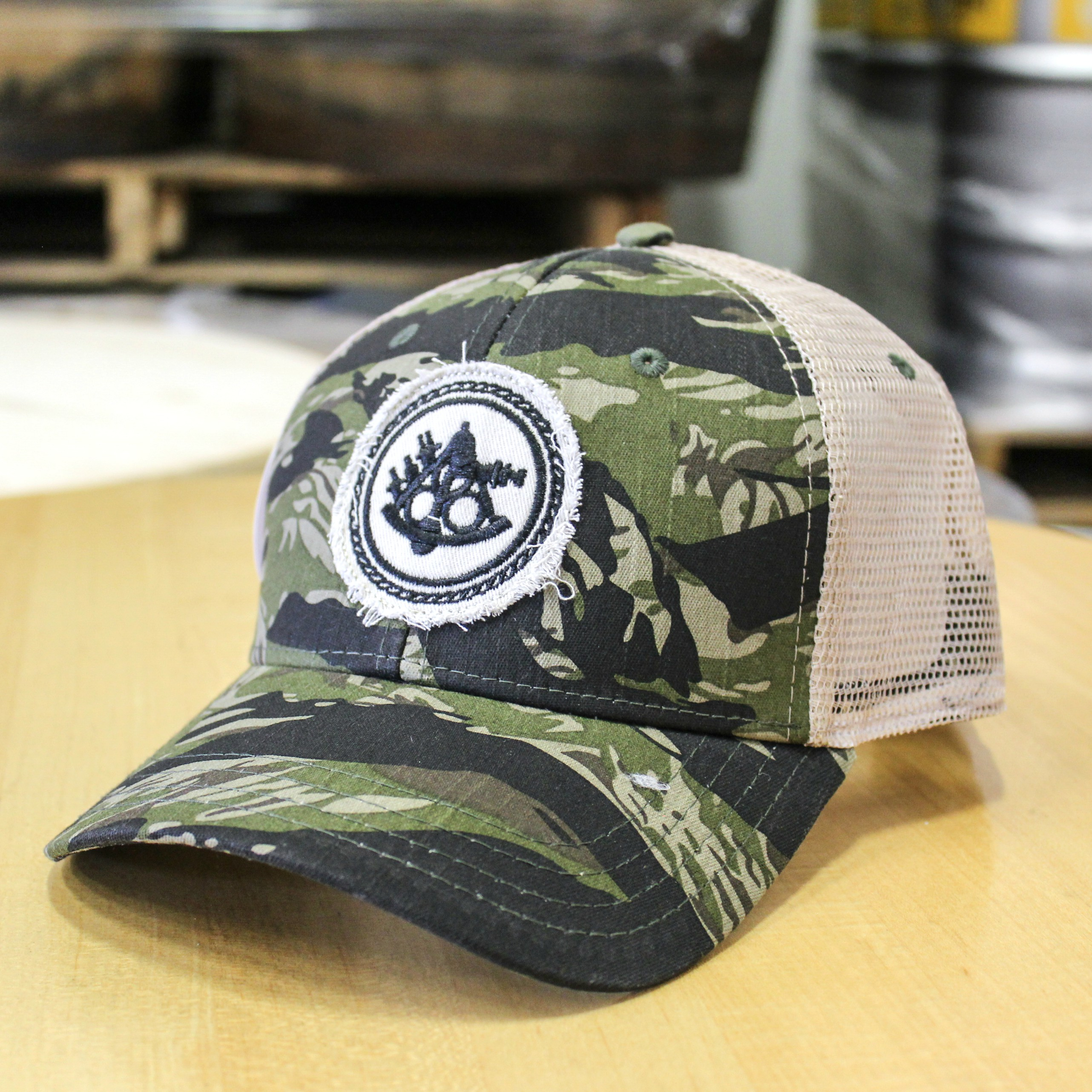 Ballast Point Camo Trucker Hat THUMBNAIL