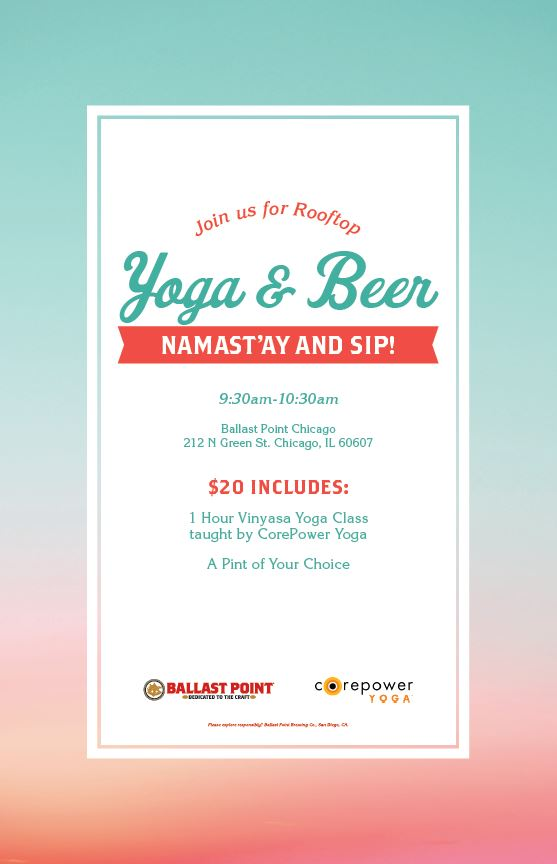 Rooftop Yoga & Beer - BP Chicago THUMBNAIL