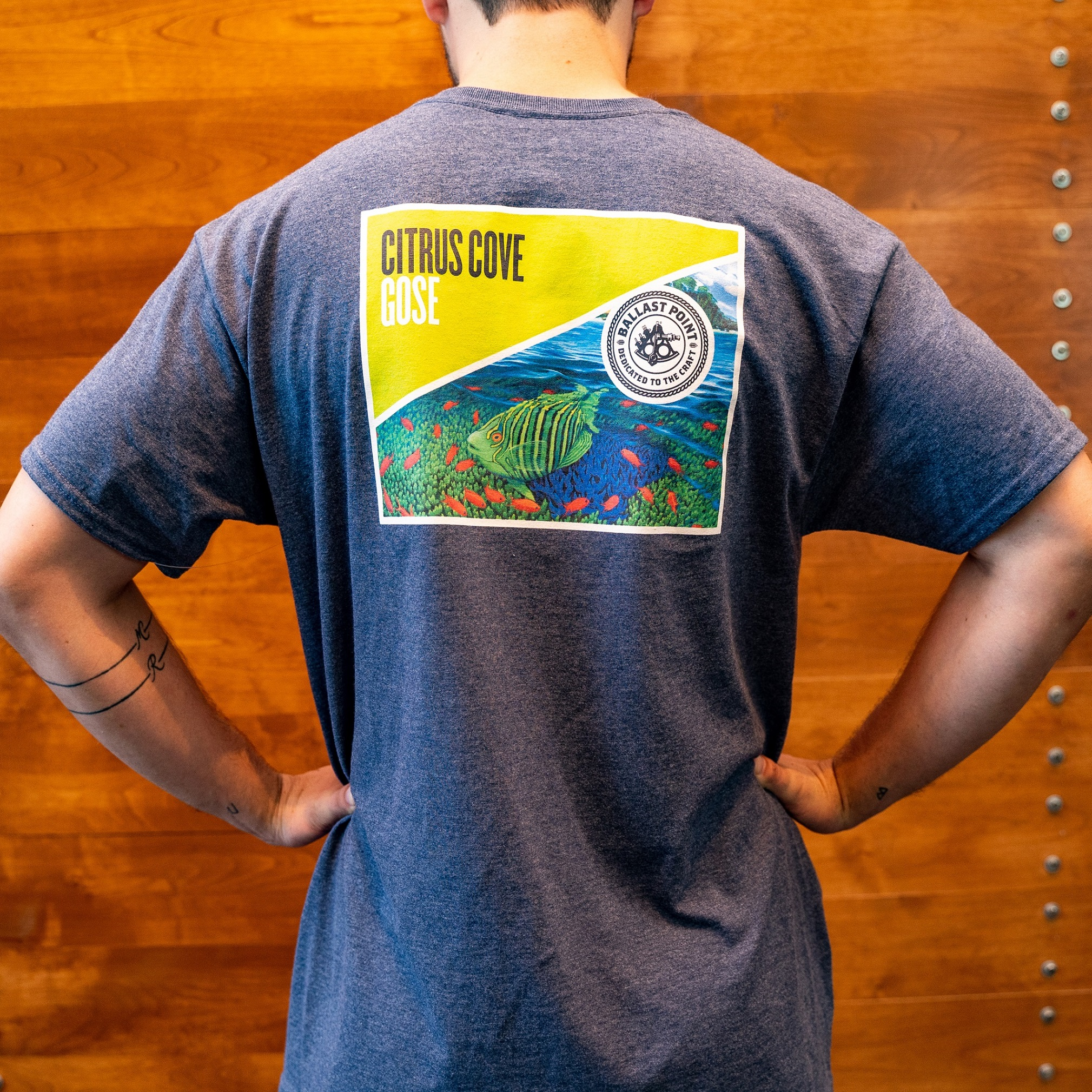 Ballast Point Citrus Cove tee THUMBNAIL