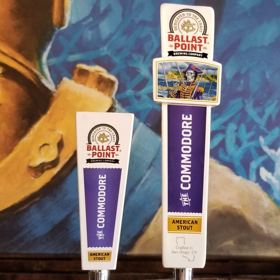 Commodore Tap Handles LARGE