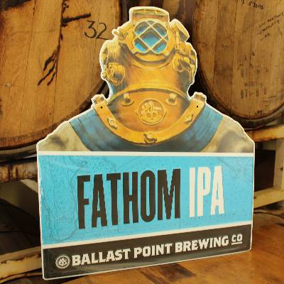 Ballast Point Fathom IPA Tin Sign