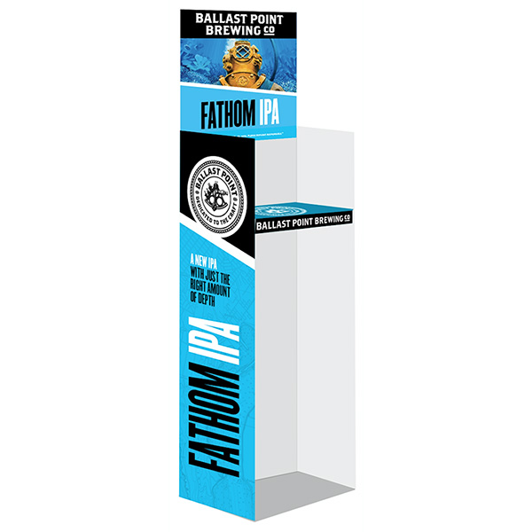 Fathom IPA Corrugated Display (2/pk)