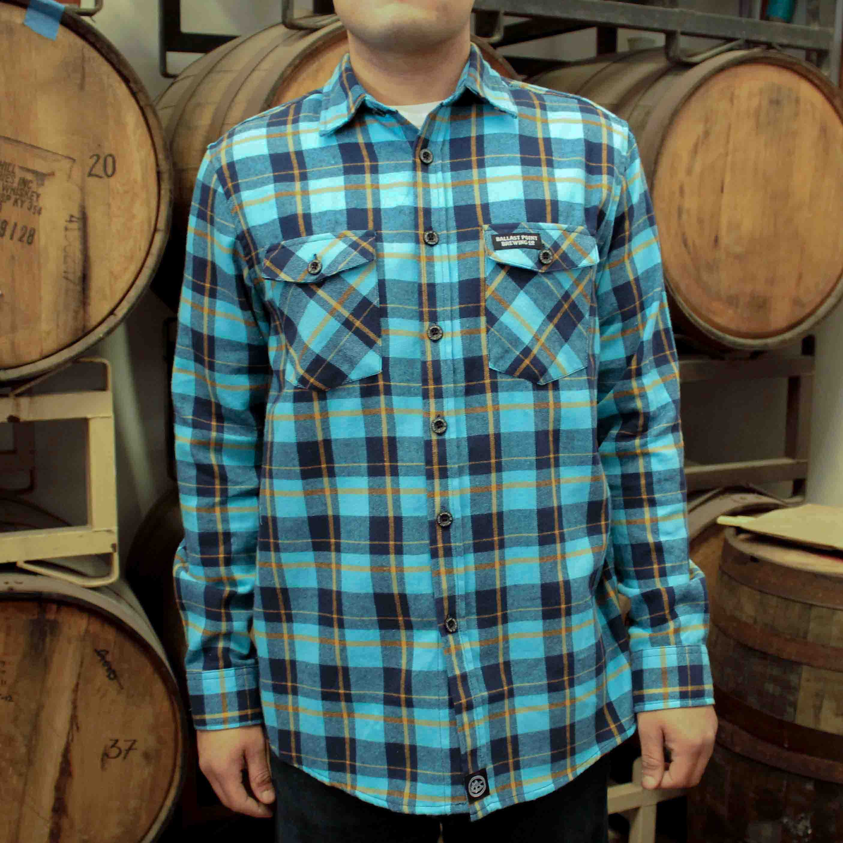 Ballast Point Fathom Flannel LARGE