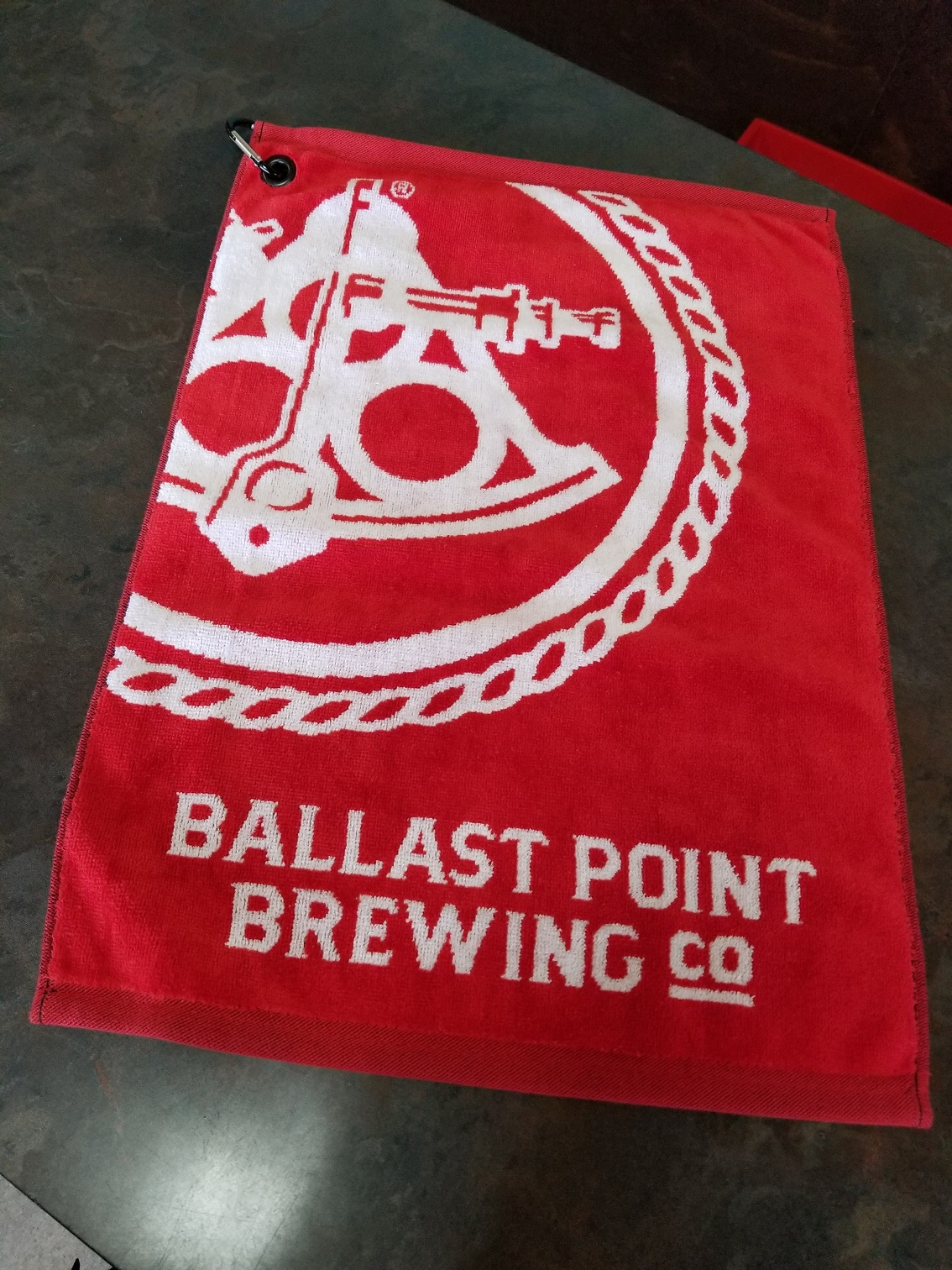 Ballast Point Golf Towel