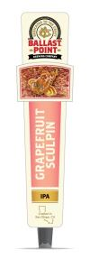Grapefruit Sculpin Tap Handles SWATCH