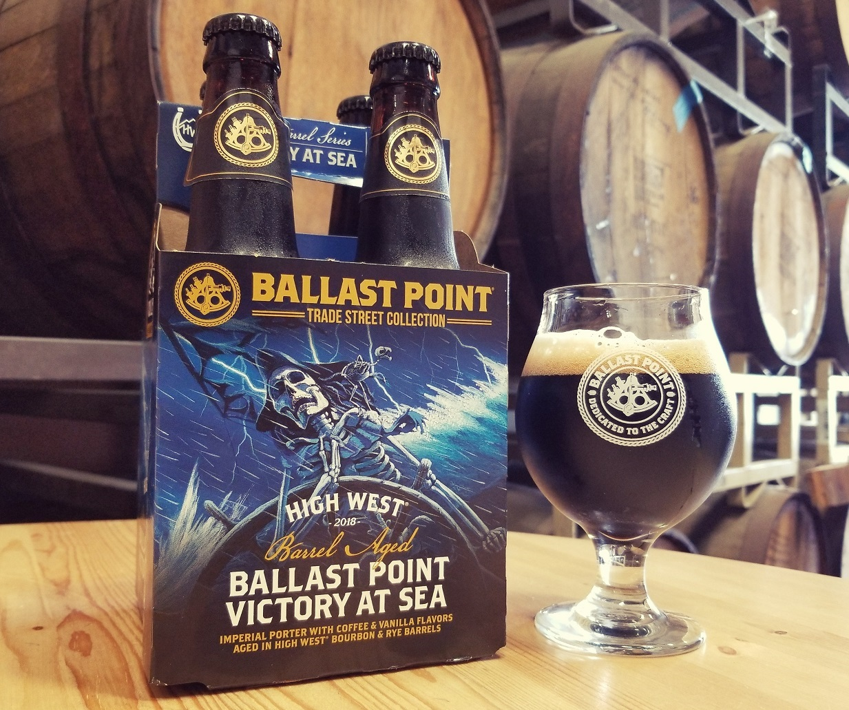 High West Barrel Aged Victory at Sea 4 pack