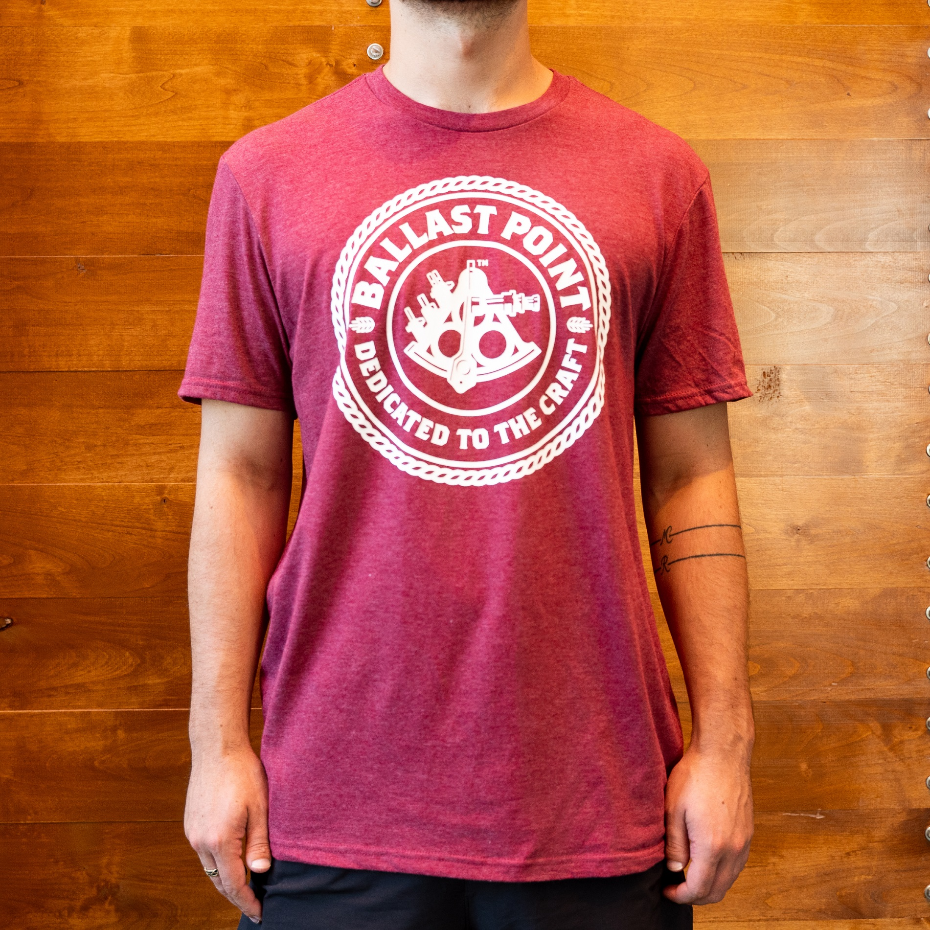 Men's Sextant Logo T-Shirt THUMBNAIL