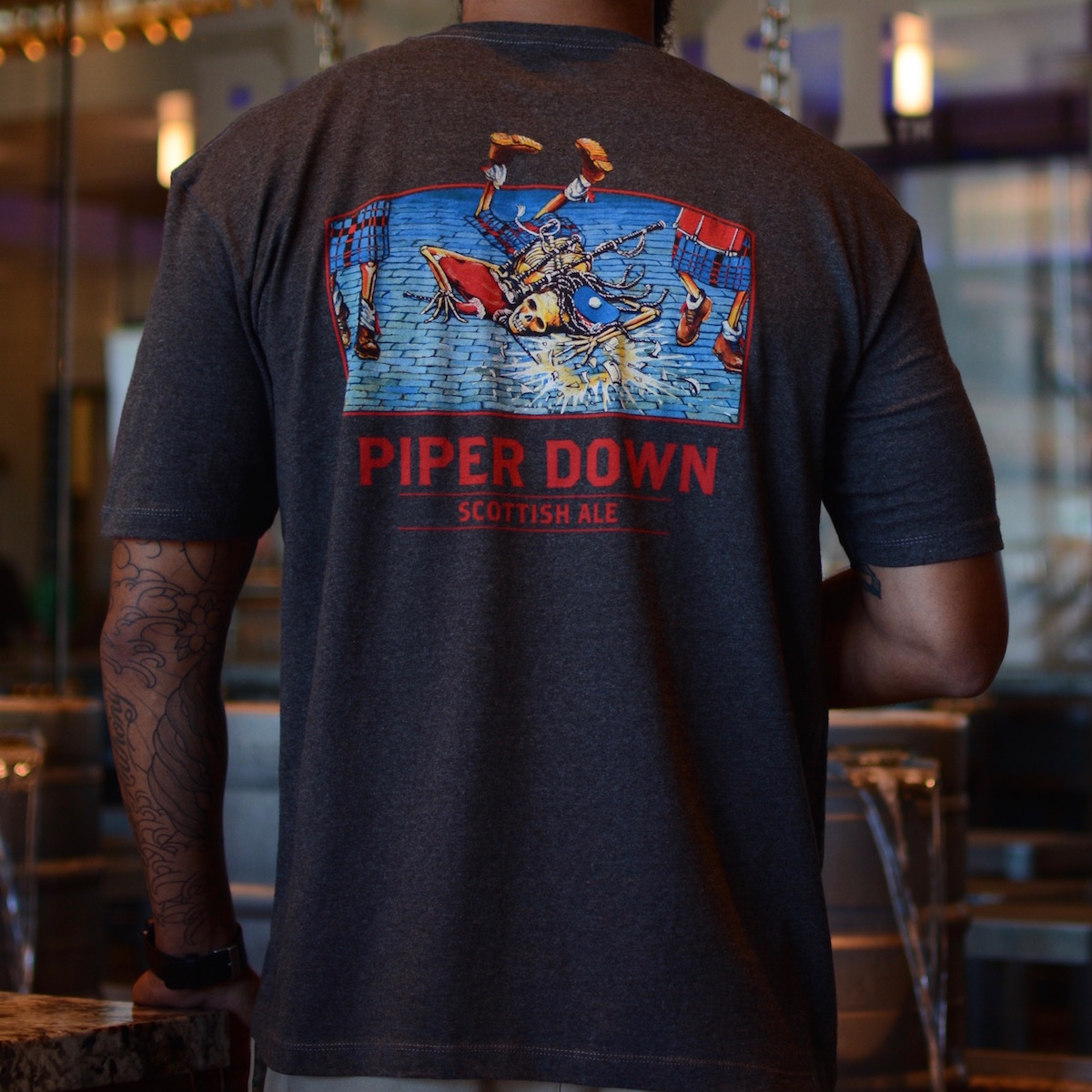 Piper Down Men's T-Shirt THUMBNAIL
