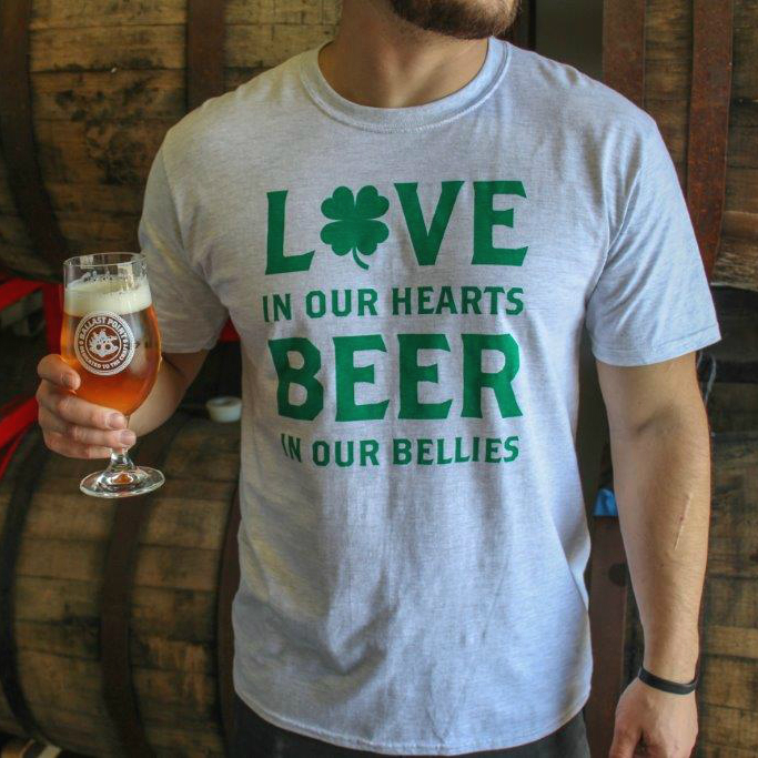 3a648346b Men's St. Patrick's Day T-Shirt – Ballast Point Brewing Co. Online Store